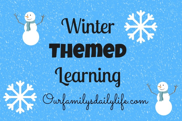 winter themed learning