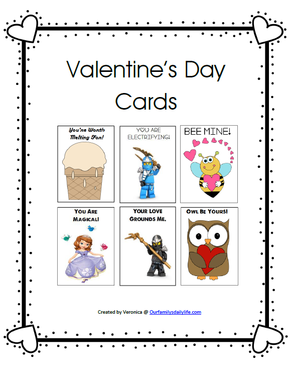 valentines cards pack cover